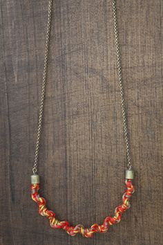 Twisted/Knotted  Necklace