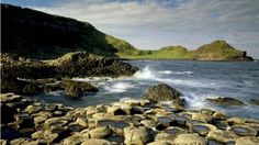 The Giant's Causeway in Northern Ireland. It is a fascinating and beautiful geologic wonder. Hilary@TOM