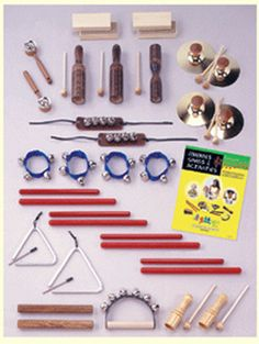 MULTI-INSTRUMENT CLASSROOM SET 35 | Honor Roll Childcare Supply - Early Education Furniture, Equipment and School Supplies.