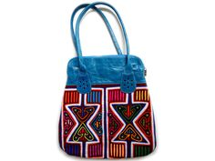 Big Blue Mola Bag