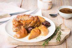 Rôti de porc pomme pruneaux Cookeo