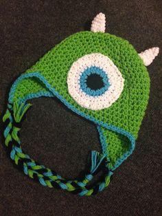 Monsters Inc crochet winter hat pattern by creatingcuteness, $4.99