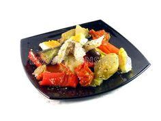 Espencat (ensalada de verduras) / Más recetas e información sobre la alimentación en personas con diabetes en: www.fundaciondiabetes.org