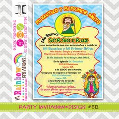 613 DIY San Juditas Party Invitation Or Thank by LilRbwKreations