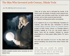 Tesla hypothesized the existence of the quark, decades before its 1977 discovery. His 1901 patented experiments with cryogenic liquids and electricity provide the foundation for modern superconductors. He talked about experiments that suggested particles with fractional charges of an electron -- something scientists in 1977 finally discovered -- quarks! Tesla was so far ahead of his time that the US Air Force is still researching his ideas and scientists continue to scour his notes today.