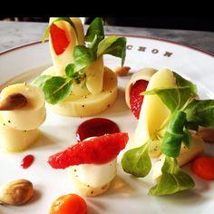Heart of Palms Salad w Blood Orange  Bouchon (Yountville, CA)