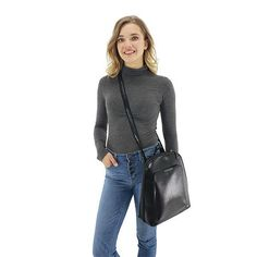 Crossbody backpack leather for women Backpack Purse, Leather Backpack, Leather Jacket, Crossbody Bag, Best Work Bag, Convertible Backpack, Unique Bags, Best Bags, Bag Organization
