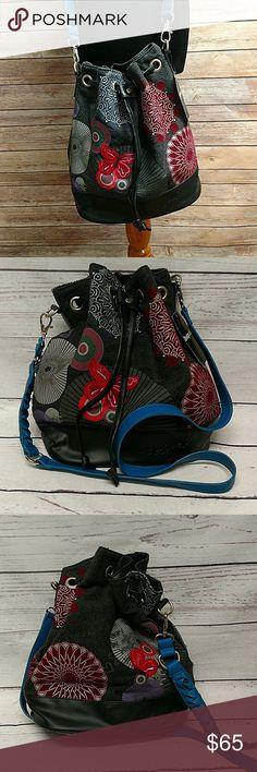 Desigual Bag New.  Butterfly felt pattern. Desigual Bags Crossbody Bags