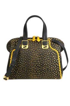 Spring Purses 2013 - Fendi Chameleon Jacquard Satchel, $1,720; saks.com
