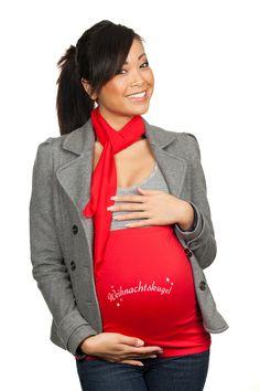 Bauchband Weihnachtskugel von Mamaband auf DaWanda.com