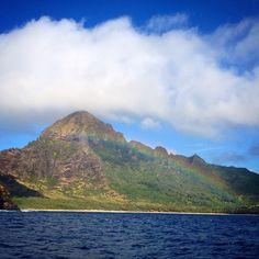 Another beautiful #Kauai #Rainbow. #ActivityKauai #Hawaii