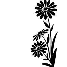 * Darice Embossing Folder LARGE DAISY Flower Corner NEW! Card Making A2 1218-111