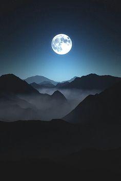 Lua azul!