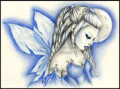 winter fairy by RossanaCastellino.deviantart.com on @deviantART