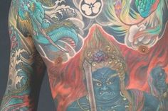 Japanese Tattoo art exhibit at the Japanese American National Museum 369 E First St Downtown Los Angeles