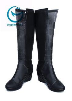 Marvel The Avengers Black Widow Natasha Romanoff Cosplay Boots Cosplay Boots, Dc Cosplay, Cosplay Costumes, Black Widow Cosplay, Black Wedge Boots, Black Widow Natasha, Bicycle Bag, Comic Movies, Natasha Romanoff