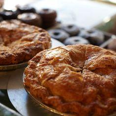 Pies 'n' Thighs Apple Pie Recipe | Bon Appétit Pies And Thighs, Thanksgiving Pies, Apple Filling, Meringue Pie, Apple Pie Recipes, No Bake Pies, Lime Pie, Cream Pie, Amigurumi