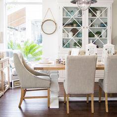 Dining Room Makeover {coastal | Best Coastal farmhouse ideas