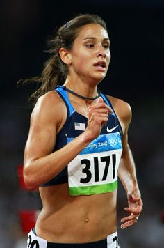 Kara Goucher. Olympic runner. Inspiration.  (And relief that even olympians have funny running faces.)