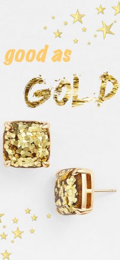 Twinkle twinkle | Good as Gold - a @katespadeny MUST-have! http://rstyle.me/n/s3w2fn2bn