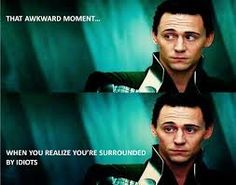 Let's be honest, ladies. Most of the women who repin this aren't doing it so much because it's funny, but because it's TWO pictures Tom Hiddleston!