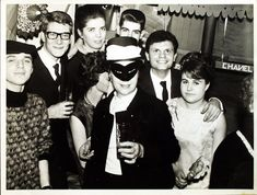 1964 - Yves Saint Laurent & his 'petites mains' celebrate Saint Catherine