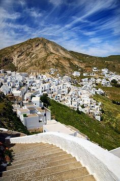 The Chora on Serifos   image by #kitsakis  Chora is split in two quarters: Pano Chora & Kato Chora