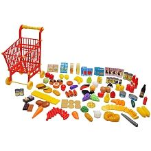 Just Like Home - 150-Piece Food and Shopping Cart Set