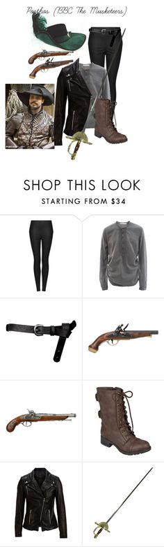 """Porthos (BBC The Musketeers)"" by jessieyb ❤ liked on Polyvore featuring Topshop, HUGO, ASOS, Hailey Jeans Co. and SELECTED"