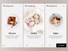20 Fresh Food Mobile App Designs For Your Inspiration #MobileApps