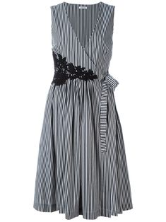 Wrap fit and flare midi dress Simple Dresses, Day Dresses, Cute Dresses, Beautiful Dresses, Dress Outfits, Casual Dresses, Short Dresses, Fashion Dresses, Summer Dresses