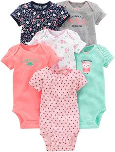 Newborn Baby Girl Clothes - Simple Joys by Carter's Baby Girls' Short-Sle. Newborn Baby Girl Clothes - Simple Joys by Carter's Baby Girls' Short-Sleeve Bodysuit: Clothing, Carters Clothing, Carters Baby Clothes, Baby & Toddler Clothing, Cute Baby Clothes, Toddler Outfits, Newborn Clothing, Girl Clothing, Children Outfits, Fall Clothes