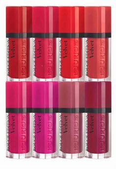JUSTiBeauty Blog: #Bourjois: Die matten Rouge Edition Velvet Lippenstifte mit toller Haltbarkeit