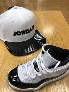 low priced c1e5a eeb28 Air Jordan Retro 11 Concords Men s Snapback Matching Hat   eBay Retro 11  Concord, Jordan