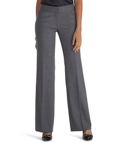 White House | Black Market Luxe Suiting Wide Leg Pant #whbm