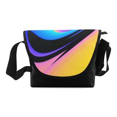 Swatch of Colors Crossbody Bag/Large (Model 1631)