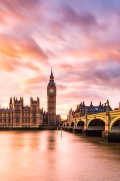 London, sunset