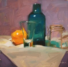 Carol Marine's Painting a Day: Considering Everything