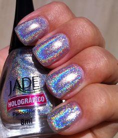 Jade Holografico - Psicodelica #nail #polish