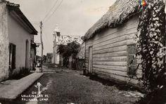 Calle Ignacio Ramírez. Palizada, Campeche (ca. 1950).
