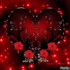 The perfect Corazon Rosas Rojas Animated GIF for your conversation. Discover and Share the best GIFs on Tenor. Love You Gif, Love You More, Animated Heart, Animated Gif, Picmix Gif, Beautiful Gif, Beautiful Roses, Hearts And Roses, Red Roses