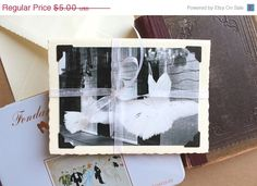ON SALE photo greeting card vintage style by ParisDecorPrints