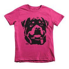 Rottweiler Kids Shirt, Girl Toddler Tshirt, Boy Toddler T-shirt, Personalized Kids Clothes, Youth Tshirt, Rottie Dog Tshirt, Niece Birthday by MONOFACESoCHILDREN on Etsy