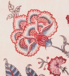 love this as possibly tattoo art Textile Pattern Design, Textile Patterns, Embroidery Patterns, Print Patterns, Floral Motif, Floral Prints, Paisley, Jacobean Embroidery, Chintz Fabric