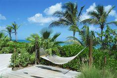 Hammock on Grace Bay Beach. #CaicosIslands