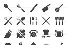 50 Kitchen Glyph Icons #Sponsored , #Sponsored, #Mobile#Suitable#Websites#Apps