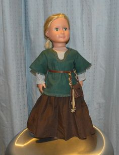 18 inch American Girl Doll Medieval Outfit von LsDollCloset auf Etsy
