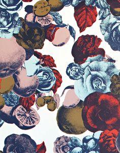 Boudoir Fabric, Multi