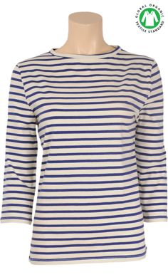 King Louie breton shirt in organic cotton
