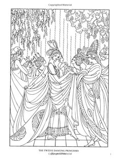 Color Your Own Great Fairy Tale Illustrations (Dover Art Coloring Book): Marty Noble: 9780486467887: Amazon.com: Books